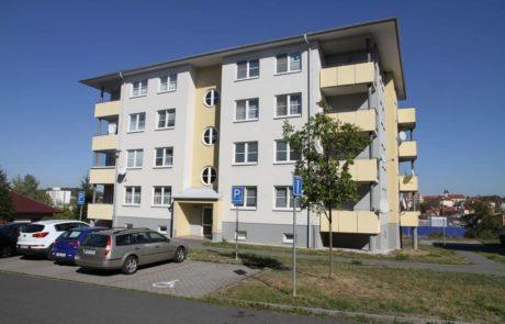 Klatovy Luční ulice - 16 bytových jednotek, 2006