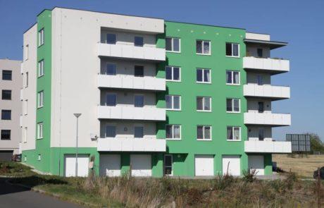 Klatovy Plánická ulice - 16 bytových jednotek, 2011