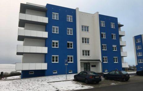Klatovy Plánická ulice - 16 bytových jednotek, 2016