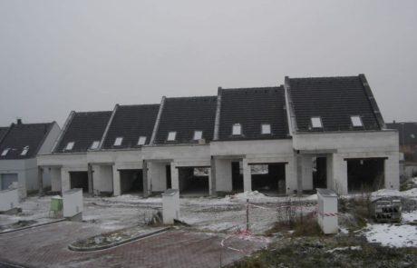 Horažďovické předměstí řadové domy 2012